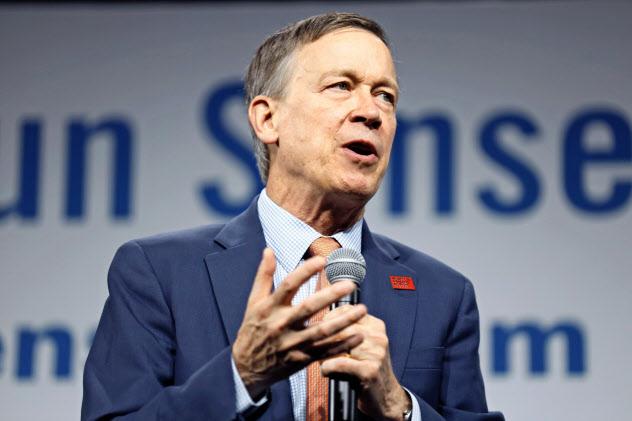 ヒッケンルーパー前コロラド州知事は同州の連邦上院選への出馬を検討する=AP