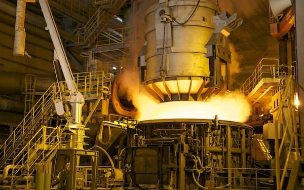 共英製鋼のベトナム事業も収益改善した(ベトナム南部で運営する電炉)