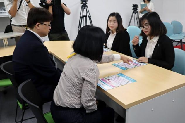 千葉県外国人介護人材支援センターは外国人の仕事や生活の悩みを幅広く受け付ける(千葉市)