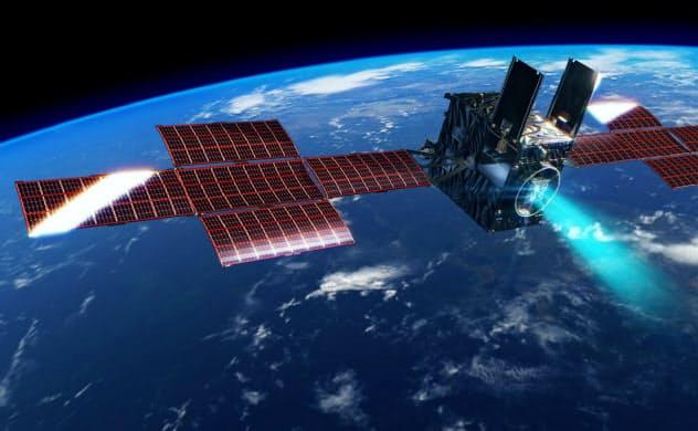 小惑星探査機「DESTINY+」の完成イメージ=JAXA提供