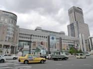交通や買い物の便のいいJR札幌駅周辺は「住みたい街」で断トツの首位だった