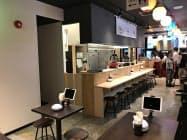 複数の飲食店を1フロアに集めた「旭川テック横丁」