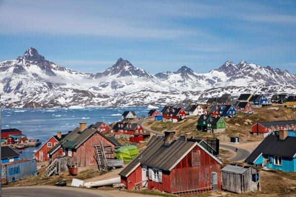 グリーンランドを巡っては1946年に当時のトルーマン米大統領がデンマークに買収を打診したが拒否されたという(2018年6月、グリーンランド)=ロイター