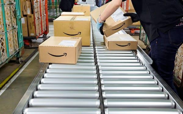 アマゾンは日本でも個人配送網を広げる(アマゾンの物流倉庫)