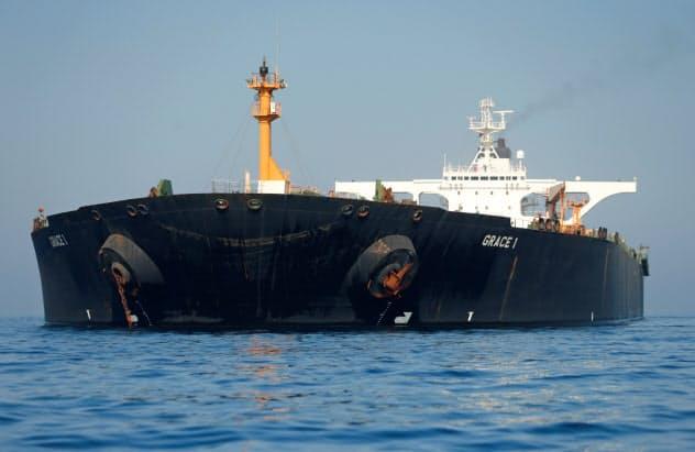 英領ジブラルタルの自治政府は15日、拘束していたタンカー「グレース1」を解放した=ロイター