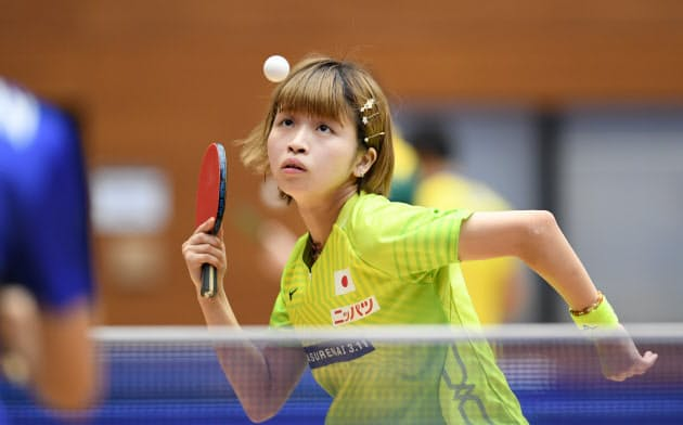 8月初旬のジャパンオープンで再びリオデジャネイロ五輪女王を破るなど成長著しい
