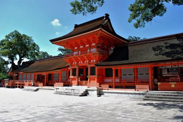 外国人観光客向けの観光・文化財情報の提供が9月から始まる宇佐神宮(大分県宇佐市)