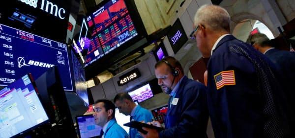 高まっていた米中貿易戦争への懸念が和らいでいる(ニューヨーク証券取引所)=ロイター