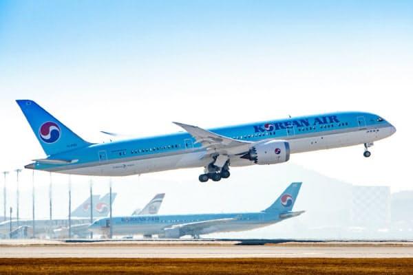 大韓航空は東南アジアや中国の路線を強化する