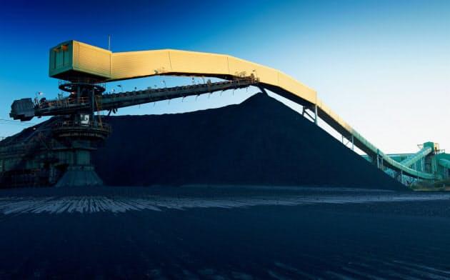 BHPが生産するオーストラリアのマウントアーサー炭鉱(同社提供)