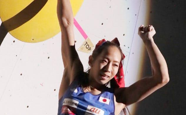 女子複合で銀メダルを獲得し、東京五輪代表に内定した野口