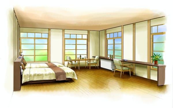 南海電気鉄道は高野下駅にホテルを開く