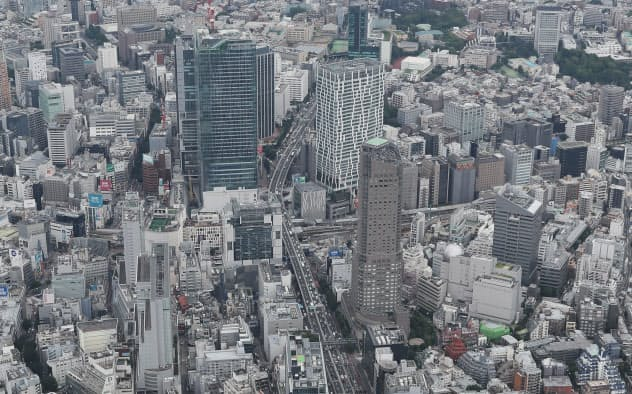 渋谷でネズミ我が物顔 再開発で駆け回る