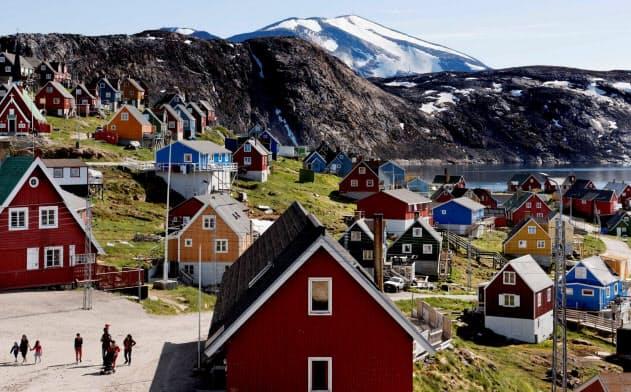 グリーンランドには3850万トンのレアアースが埋蔵されていると推定される=ロイター