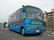 小田急電鉄らは江の島で自動運転バスの実証実験を始めた