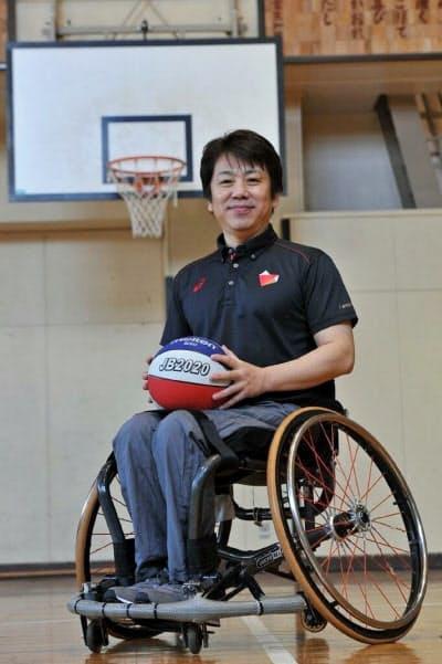 車いすバスケの元日本代表キャプテンの根木慎志さん