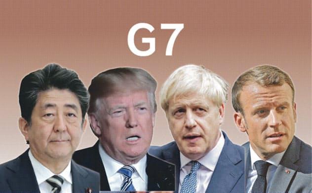 G7の結束を巡っては否定的な見方が支配的だ(写真は一部ロイター)