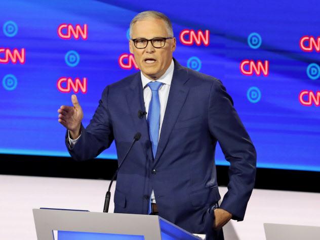 インスリー米ワシントン州知事は気候変動対策を重視してきた=AP