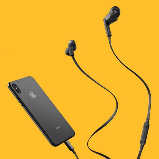 ベルキン(東京・台東)が23日に発売する「ROCKSTAR Lightningコネクタ付きイヤフォン」
