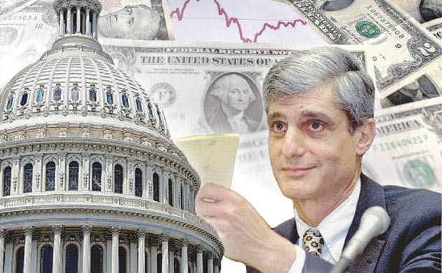 米国では議会でも、1995年に当時のルービン財務長官が打ち出したドル高政策を見直そうとする動きが出てきた=いずれもロイター