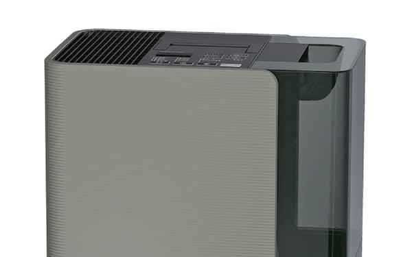 新商品のLXシリーズは設定湿度に従来より短時間で達する
