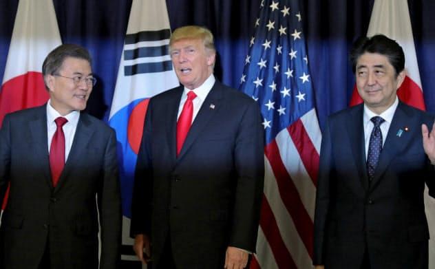日韓対立、安保に波及 対北朝鮮連携に不安