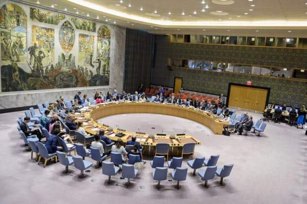軍縮を巡って米ロが互いに非難した(22日、ニューヨークの国連本部)=国連提供