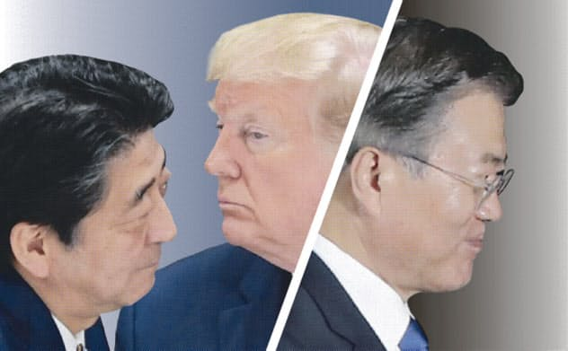 米韓、主張にズレ 日韓軍事協定破棄で