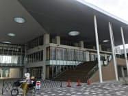 大きな階段が特徴的な設計