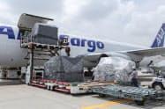 米中貿易摩擦が航空貨物の輸送需要を下押ししている