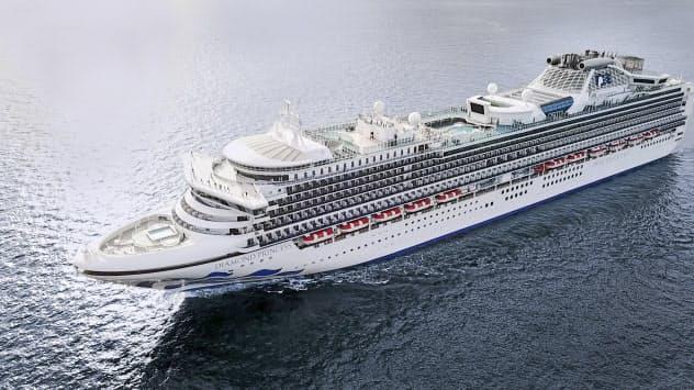 ダイヤモンド・プリンセスが25日に高松港に初寄港する
