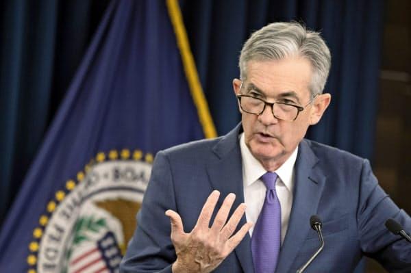 FRBが18日に利下げしたにもかかわらず短期金利は上昇(パウエル議長)=AP