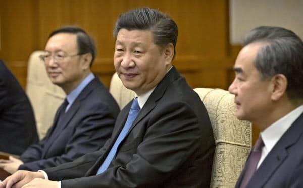 中国の習近平国家主席(7月、北京)=AP