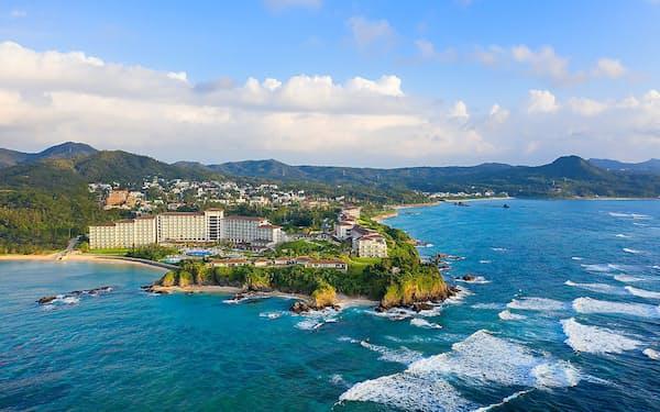ハレクラニ沖縄は将来はアジアや欧米からの来客増を目指す方針だ(沖縄県恩納村)