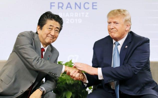日米首脳、貿易交渉で基本合意 9月下旬に署名へ