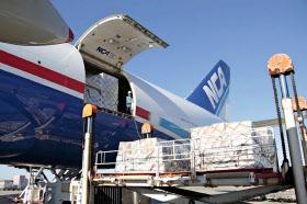 NCAの貨物機「747-8F」は燃費に問題がある