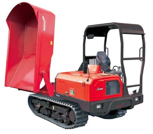 筑水キャニコムは、排ガス規制に対応したダンプカーを開発した