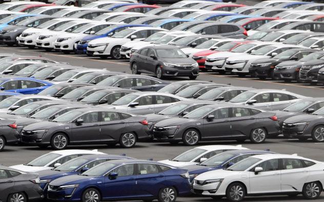 日本の自動車各社は米国による追加関税の発動などを懸念(北米に輸出される自動車)
