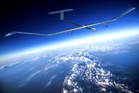 エアバスが開発中のドローン「ゼファー」のイメージ