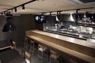 2階にはケイオスが運営する食関連の知見を共有や体験できる拠点が設置される。