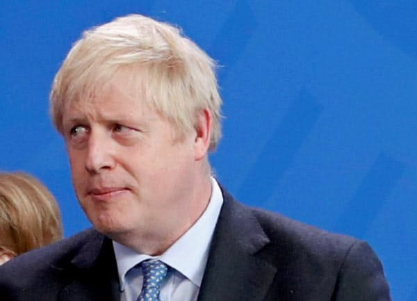 ジョンソン英首相は、EUとの合意がなくても英国が10月末に離脱すると繰り返している=ロイター