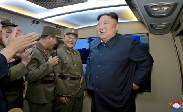 潜水艦発射弾道ミサイルは先制攻撃による破壊が難しい=ロイター