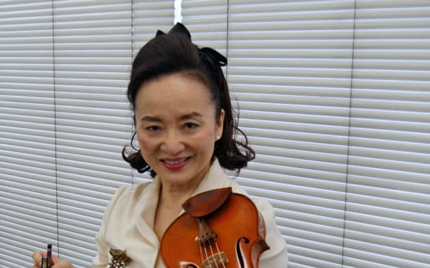 バッハの無伴奏作品全6曲の演奏と収録に挑んだバイオリニストの前橋汀子
