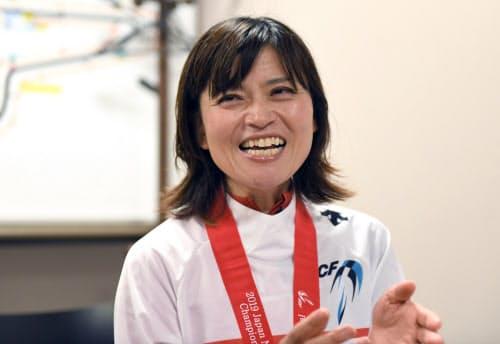 49歳で迎える東京パラに向け「年齢を重ねてからも成長できる姿を見せ、支えてくれる人たちの笑顔が見たい」と語る