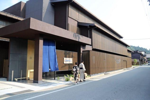 ホテルの建設・運営など新事業にも力を入れている(岐阜県高山市)