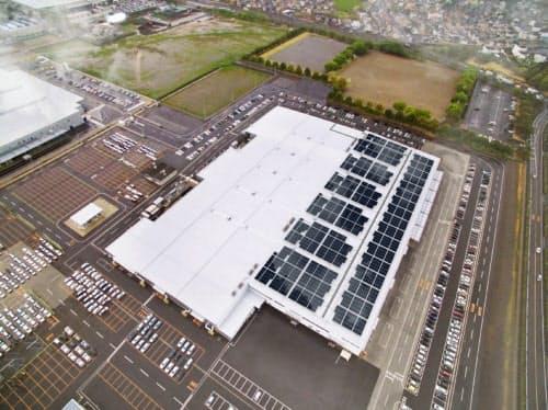 スバルは群馬県の拠点に第三者所有モデルの太陽光発電設備を導入する
