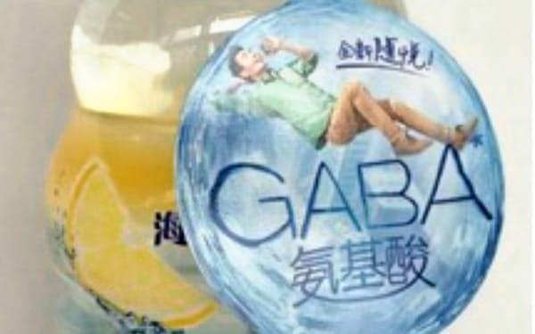 機能性素材「GABA」入りの飲料で市場を開拓する