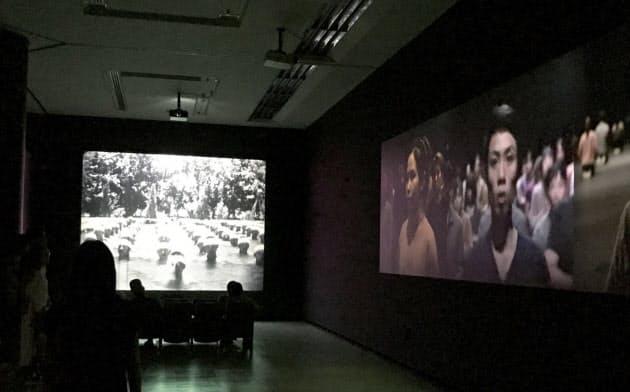 藤井光の映像インスタレーション「無情」は台湾人を日本人化するために設置された「国民道場」を題材にした
