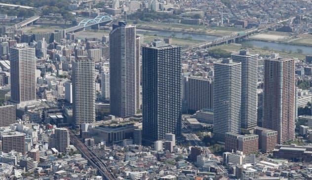 武蔵小杉の高層マンション