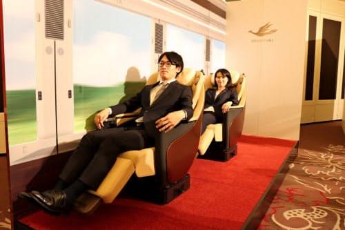 快適な座席で独自性を打ち出す